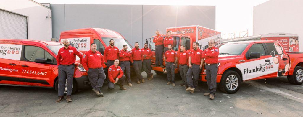 Tom Moffett Plumbing Team Picture