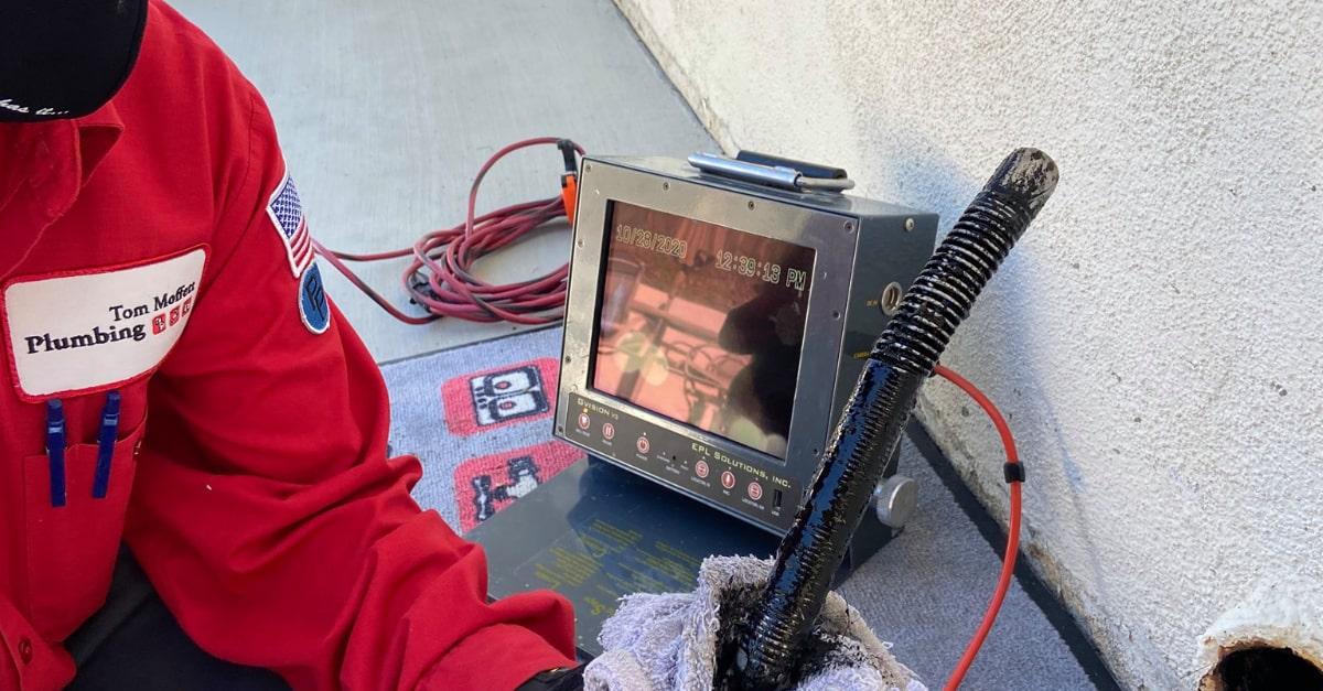 Camera Inspection Plumbing in OC